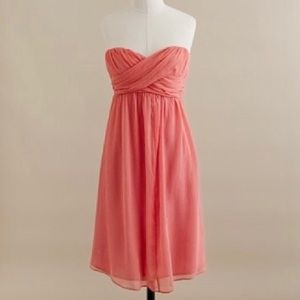 J. Crew Taryn Silk Strapless Sweetheart Dress 4